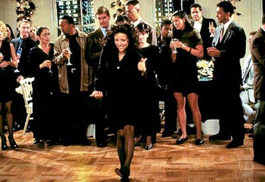 Elaine's Dancing in Seinfeld